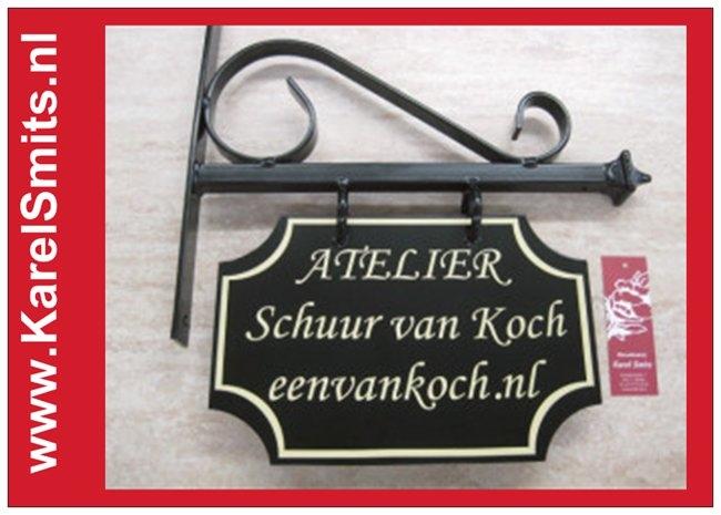 Uithangbord Maastricht GrachtenGroen