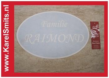 Opdruk los voor Uithangbord Ovaal Zwolle
